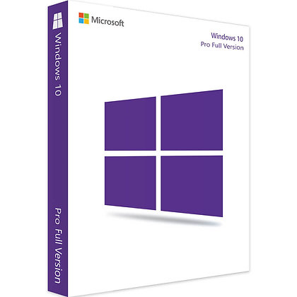 Microsoft Windows 10 Professional Pro Full Version