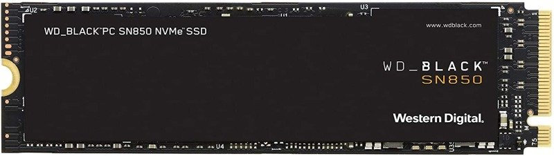 WD 1TB SN850 NVMe PS5 Solid State Drive - Black
