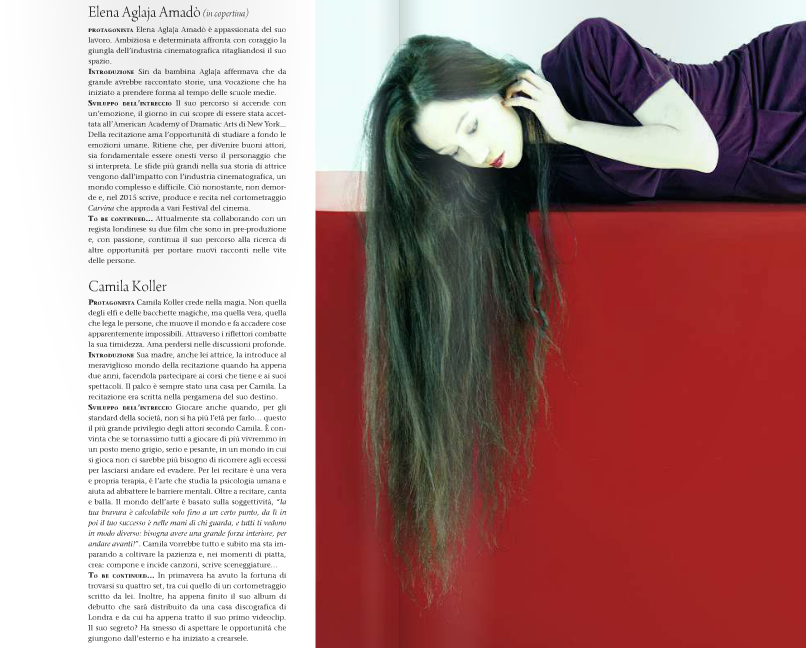 Ticino 7 Magazine - Portrait