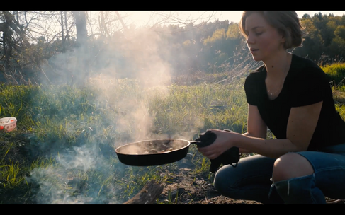 Charlotte is Cooking - Outdoor cooking by the river