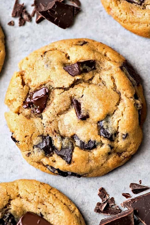 Cookies amandes & chocolat