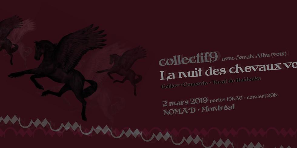 collectif9: La nuit des chevaux volants