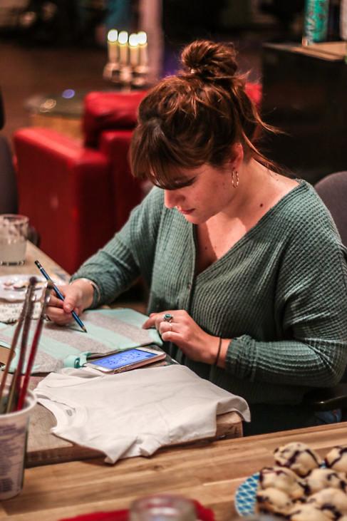 Le Bozart | Atelier de peinture textile
