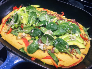 Avant-Garde Vegan's Moroccan Chickpea Omelette