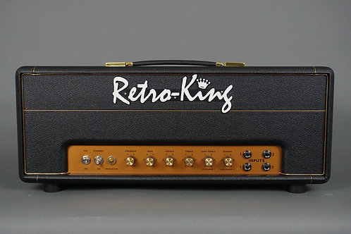 Retro King RK-45 Amplifier Head - Black Levant