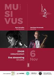 MUSIVUS SARA CARVALHO / HENRIQUE PORTOVEDO