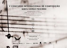 V Concurso Internacional de Composição GMCL/Jorge Peixinho