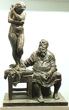Роден и Ева.Скульптор Владимир Курочкин
