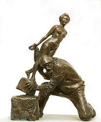 Времена года. Скульптор Владимир Курочкин. сайт скульптора: vladkurochkin.ru