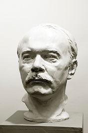 Александр Казаков.Скульптор Владимир Курочкин
