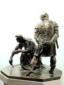 Архимед.Скульптор Владимир Курочкин