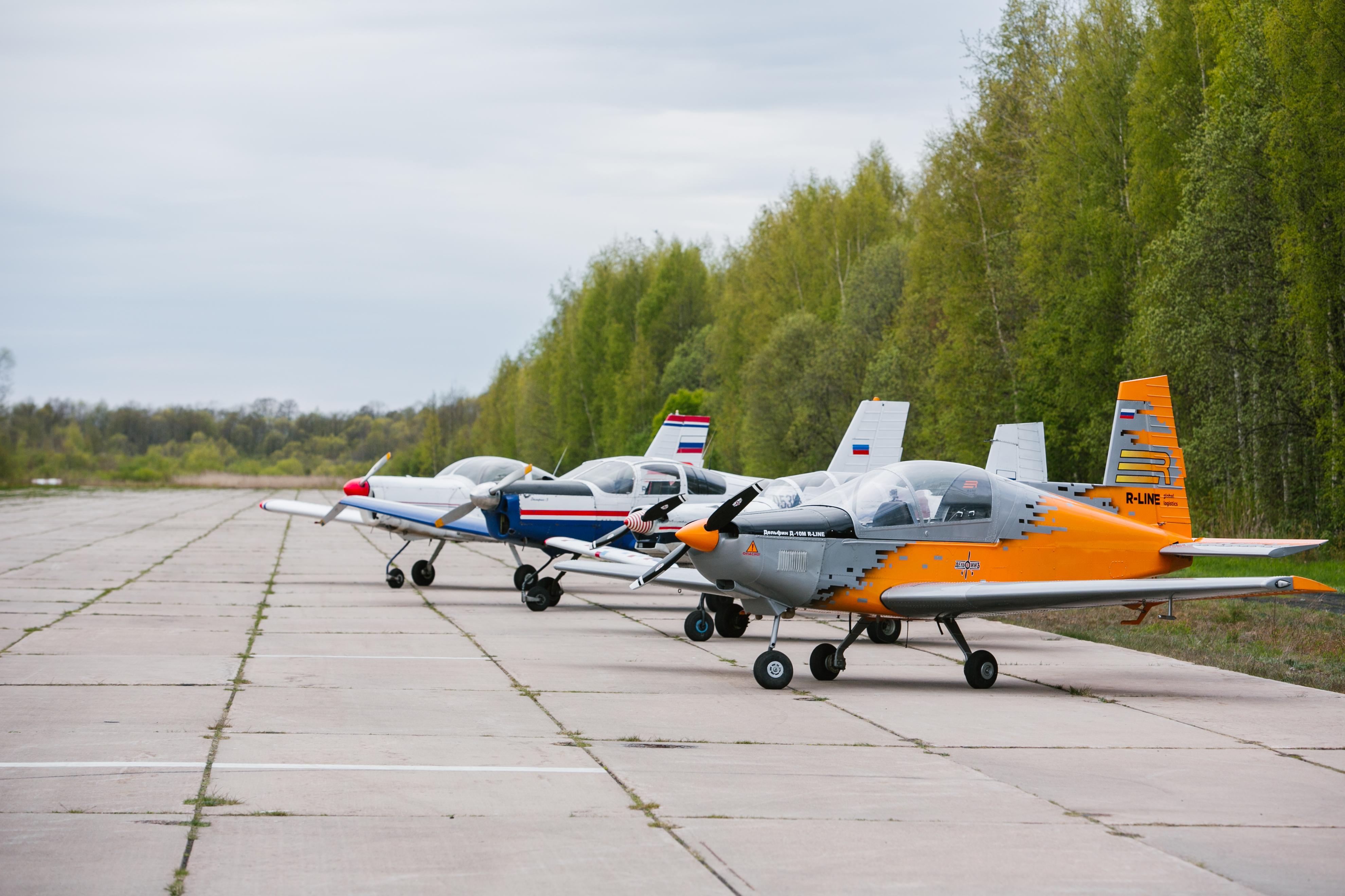 Самолеты КБ Дельфин