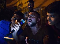 Mehmet recites a nationalist poem