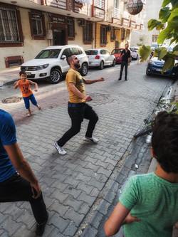 soccer in Mehmet's neighborhood