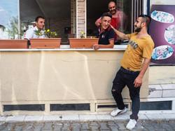 Mehmet says goodbye to neighbors