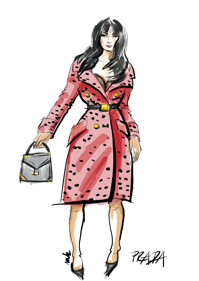 #MOMAMO - Zákopový kabát forever