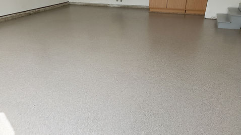 Garage Floor Decorative Flake Coating   Central Illinois