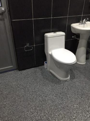 Coating in Small Bathroom