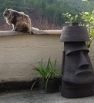 la boîte à nouck sculpture céramique Motte Chalancon Drôme Anouck Valois