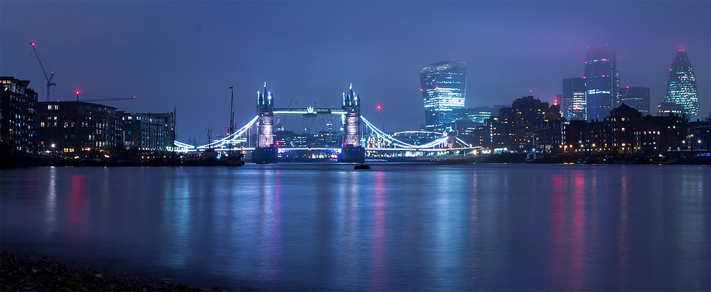 Love a London skyline, will venture back when the mist clears!