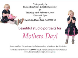 Mothers Day - Free Photoshoot!