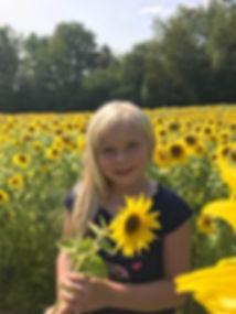 GraceSunflowers.JPG