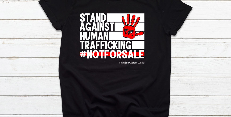 Stand Against Human Trafficking Tee