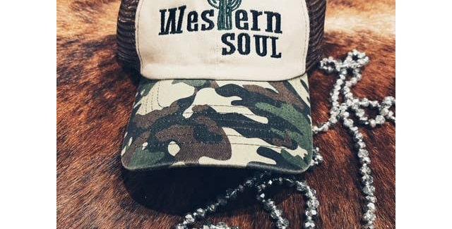 Western Soul Ball Cap