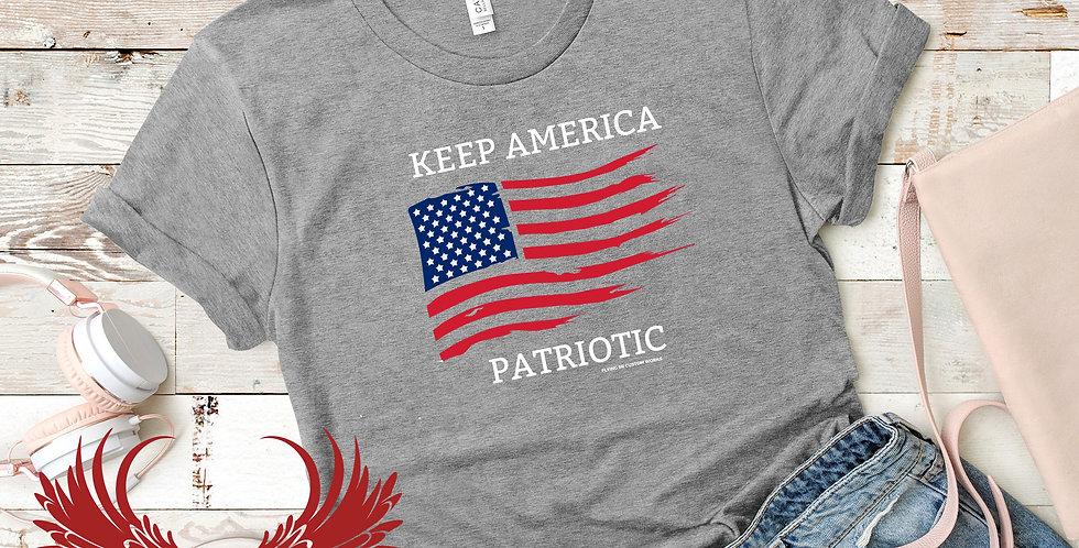 Keep America Patriotic  Tee (SR Original)