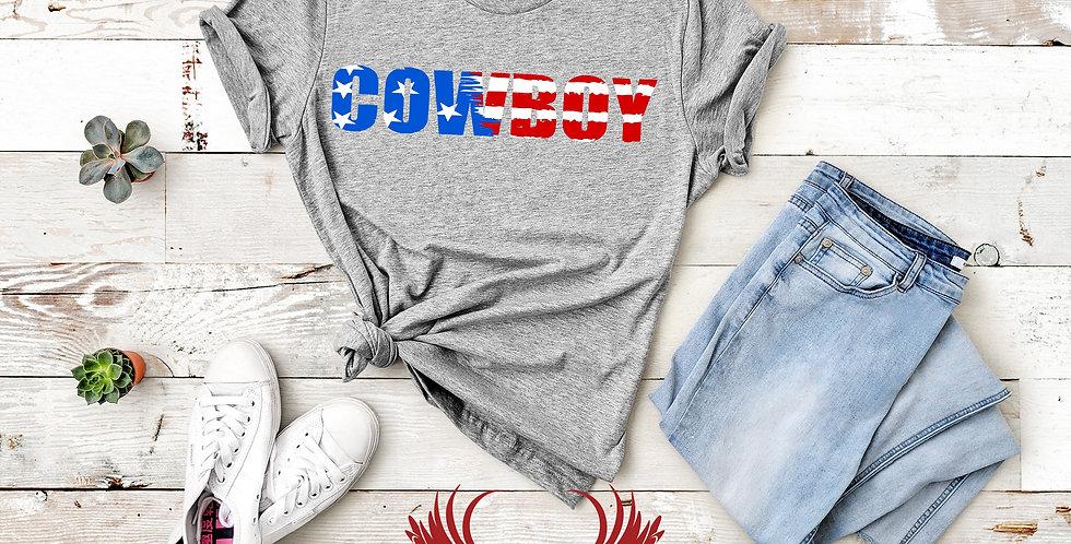 Patriotic Cowboy / Cowgirl Tee