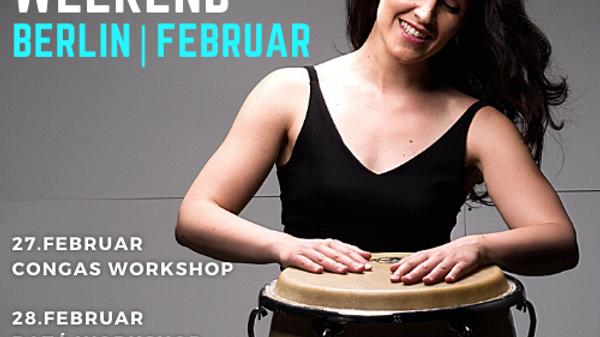 Berlin   Februar   Batá Workshop