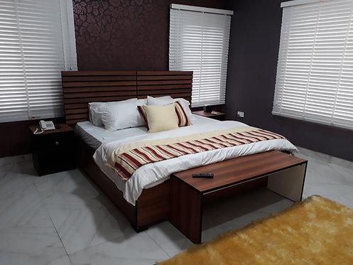 Line  Bed Frame 6X6