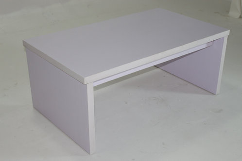 WHITE SIDE TABLE 1004