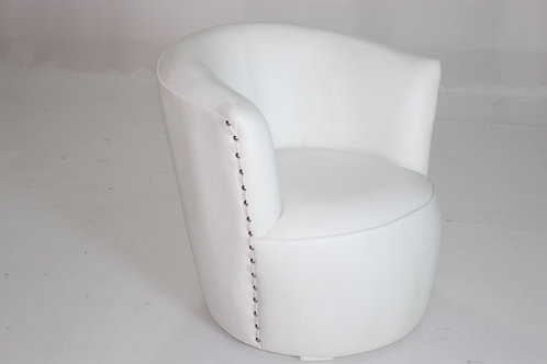 WHITE OCCASIONAL CHAIR 1001