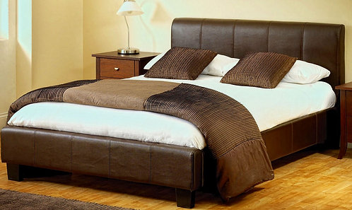 Dennis Padded Bed Frame 6X6