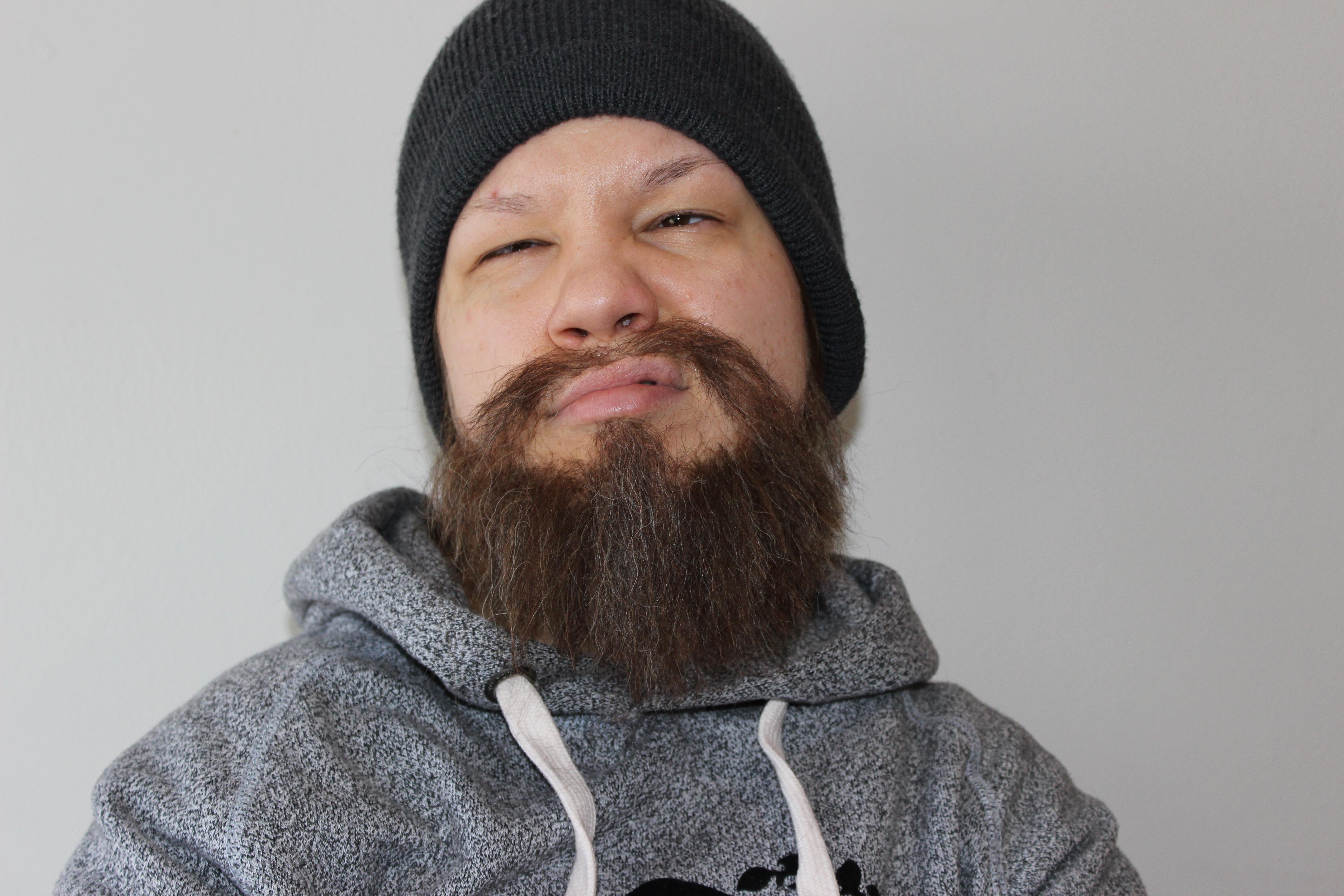 Hand-laid Beard