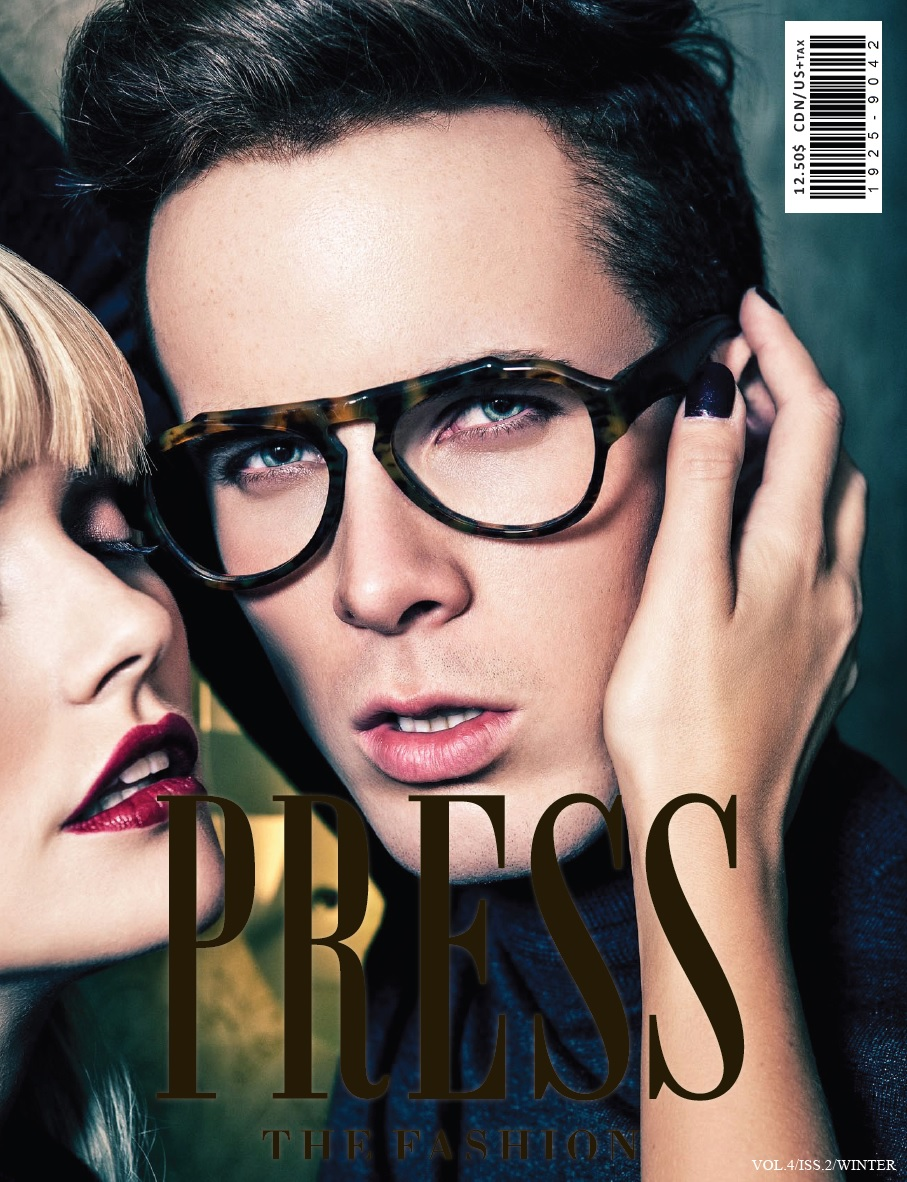 Press the Fashion Cover F/W 2014