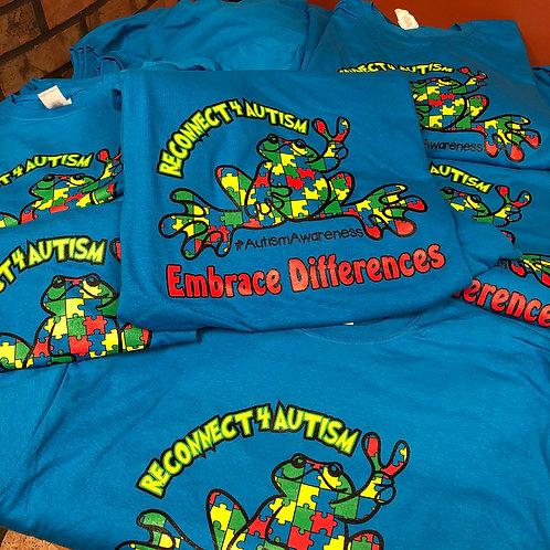 2019 Autism Awareness Frog Shirt