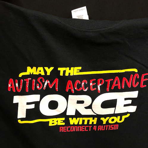 Autism Acceptance Force Shirt
