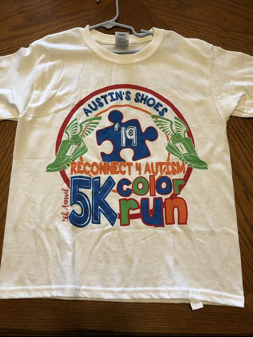 2019 Autism Color Run Shirt