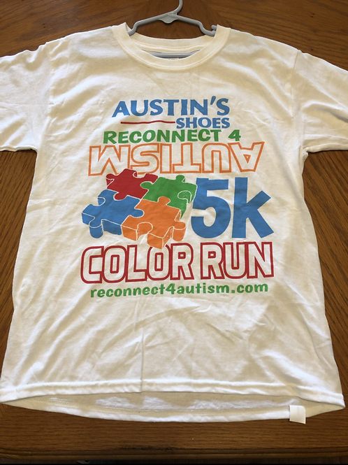 2017 Autism Color Run Shirt