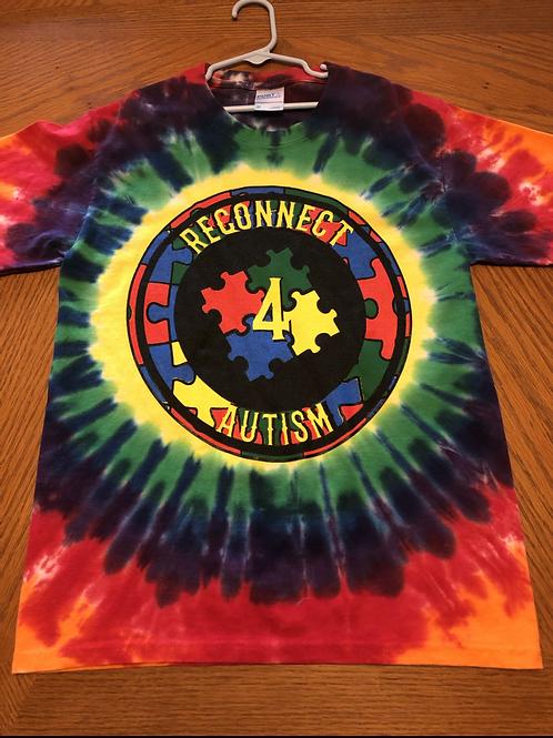 R4A New Circle Logo Tie-Dye Shirt