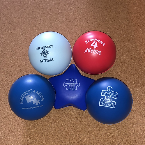 Reconnect 4 Autism Stress-ball Set of 5