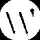 Wordpress white icon.png