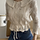 Thumbnail: Organic Grace Cardigan with optional detachable collar