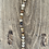 Thumbnail: Detachable Halter Top Strap - Semi-Precious Fossilised Coral Gemstones