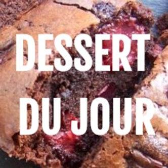 Moelleux châtaigne - Miel , crème battue a la vanille