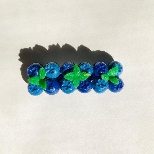 Blueberry Barrette