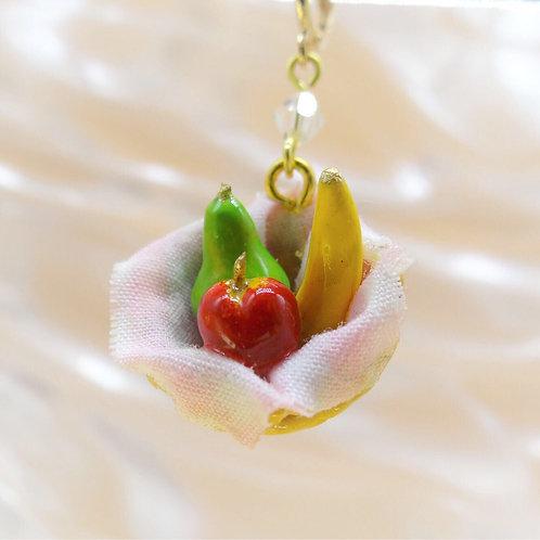 Fruit Basket Earring (Made to Order)