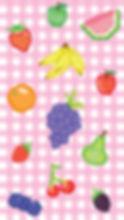 Pixel-Big-Fruits-Picnic-Pattern-Cellphon